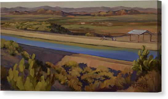 California Aqueduct Canvas Print