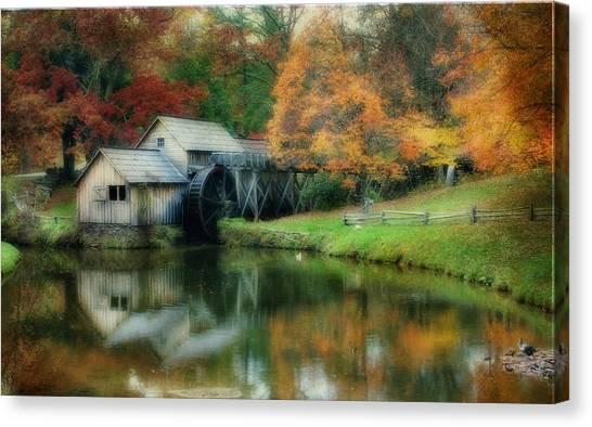 Mabry Mill Canvas Print