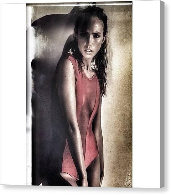 Bikini Canvas Print - @madisonbmurray by Maria Lankina
