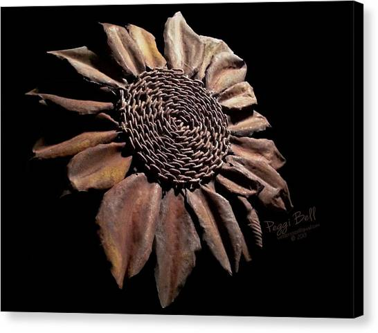 Mailbox Sunflower Canvas Print