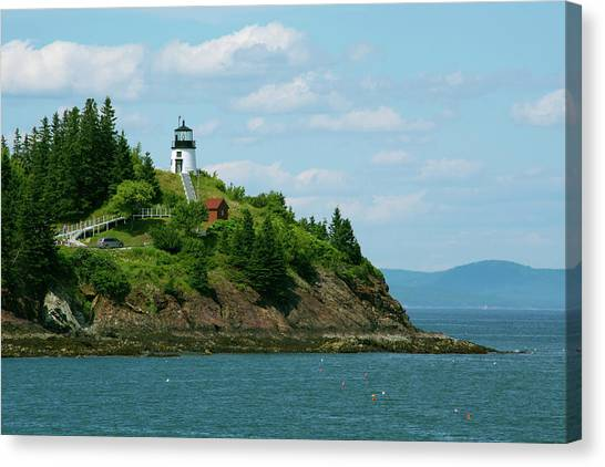Cindy Canvas Print - Maine, Rockland, Penobscot Bay by Cindy Miller Hopkins