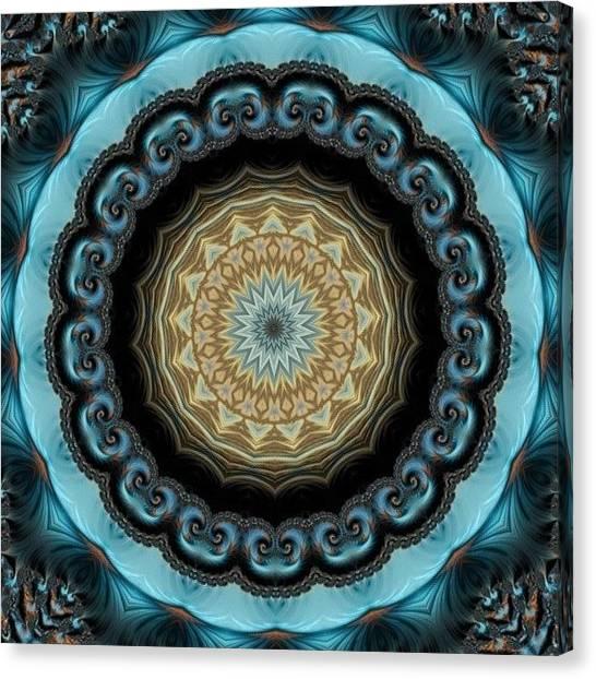 Yoga Canvas Print - #mandala #mandalas #esoteric by Esoteric Art