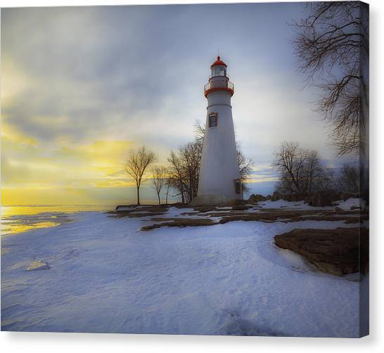Marblehead Lighthouse Lake Erie Canvas Print