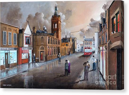 Market Street - Stourbridge Canvas Print