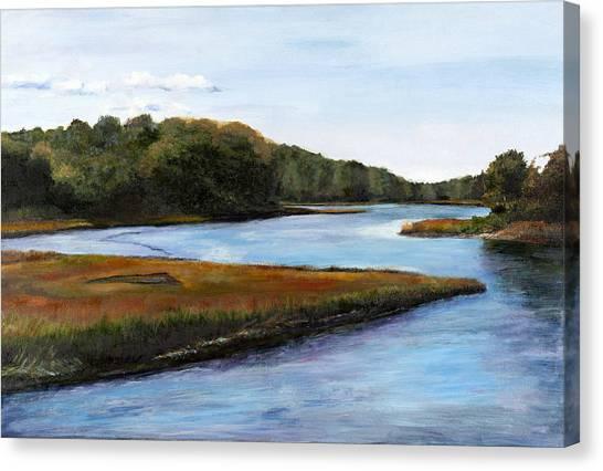Marshside Canvas Print