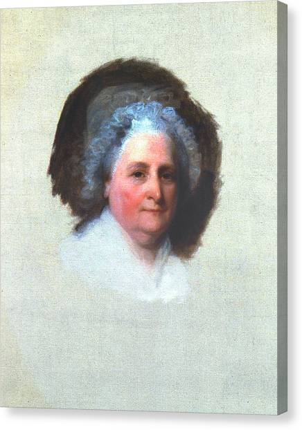 First Lady Canvas Print - Martha Washington (1731-1802) by Granger