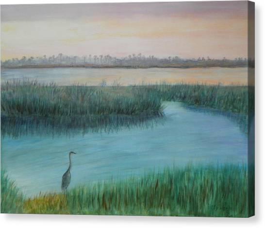 Matanzas River Morning Canvas Print