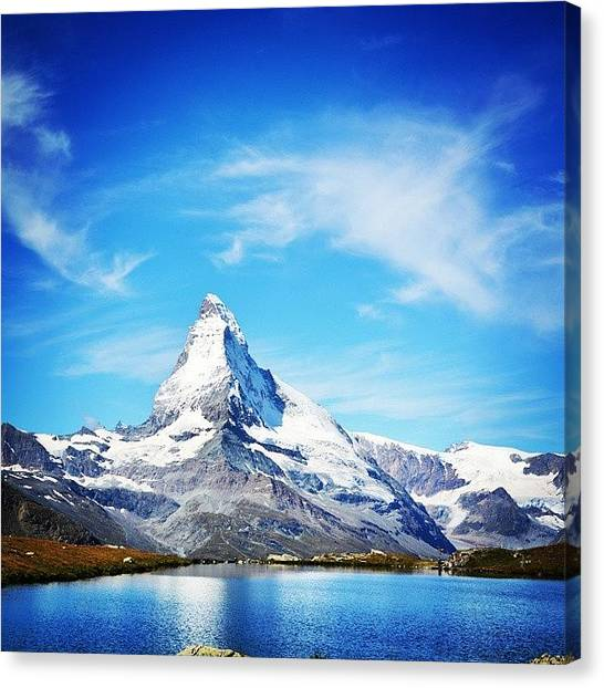 Matterhorn Canvas Print - Matterhorn by Chantelle Fahr