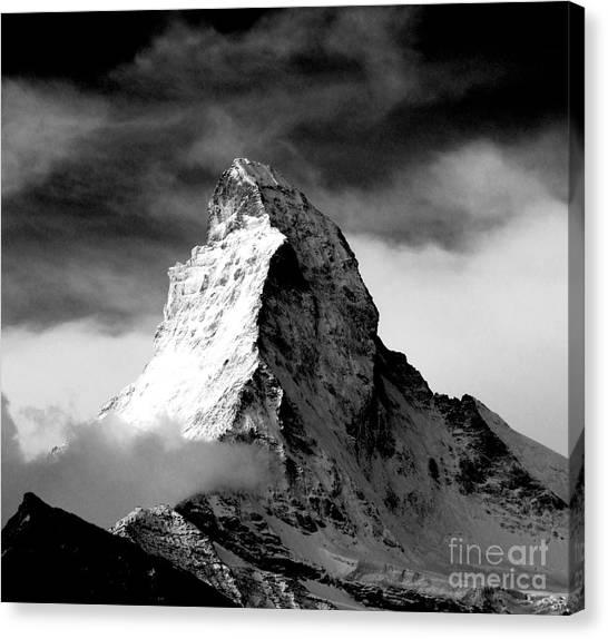Matterhorn Canvas Print - Matterhorn 2 by Lynn R Morris