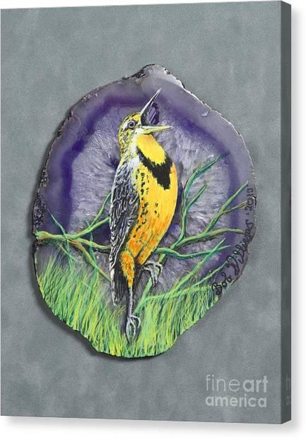 Meadow Soloist I Canvas Print