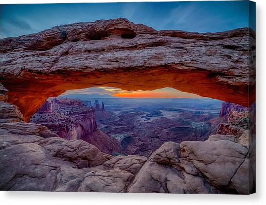 Mesa Arch Morning Canvas Print