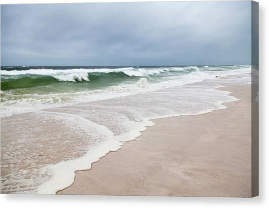 Tsunamis Canvas Print - Meteotsunami by Jim Edds