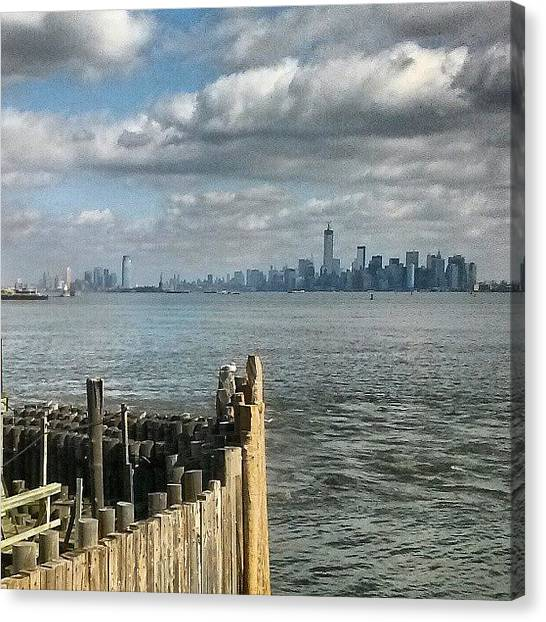 Metropolis Canvas Print - Metropolis Nyc by Crook Bladez