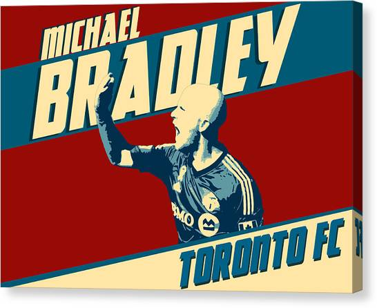 Clint Dempsey Canvas Print - Michael Bradley by Zapista