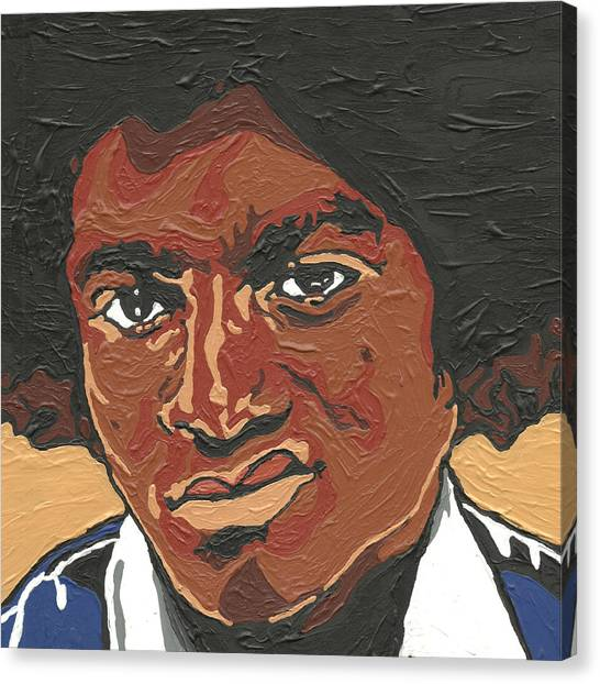 Michael Jackson Canvas Print - Michael Jackson by Rachel Natalie Rawlins