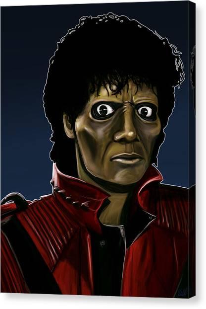 Michael Jackson Thriller Canvas Print