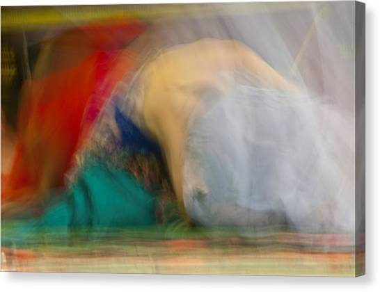 Canvas Print featuring the photograph Mideastern Dancing by Catherine Sobredo