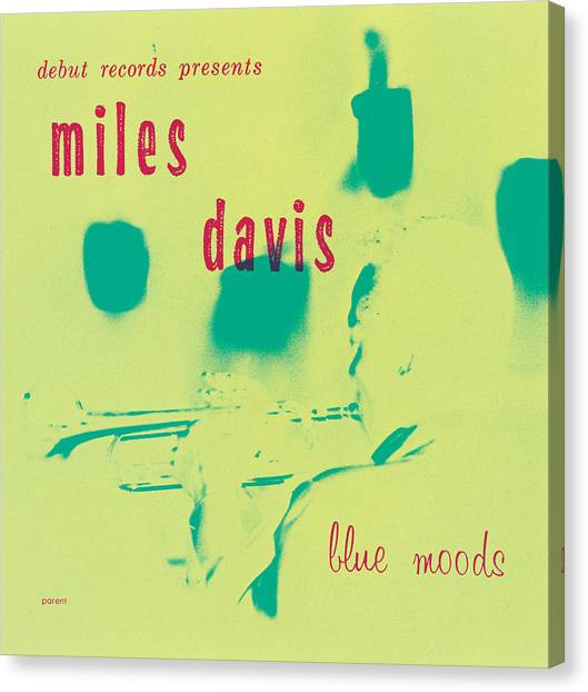 Trumpets Canvas Print - Miles Davis -  Blue Moods by Concord Music Group