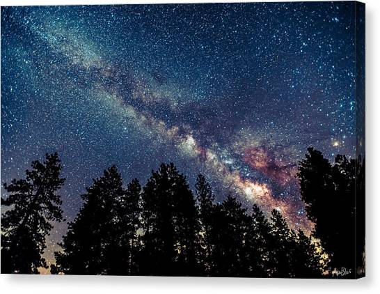 Milky Way Canvas Print by Abe Blair