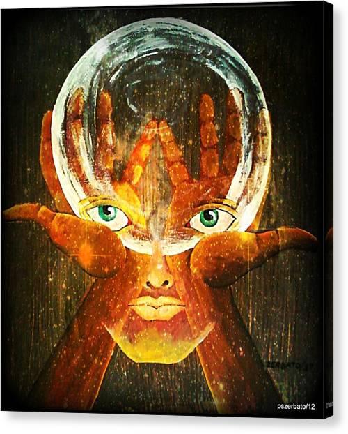 Mind Canvas Print by Paulo Zerbato