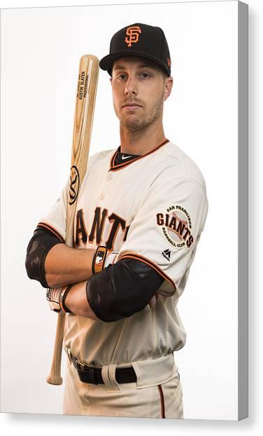 Mlb: Feb 20 San Francisco Giants Photo Day Canvas Print by Icon Sportswire