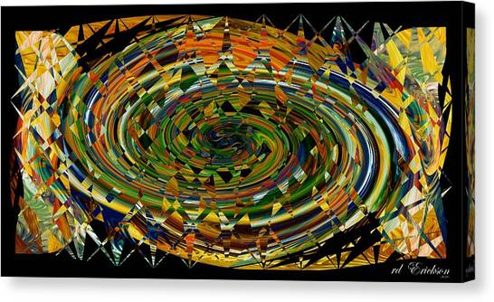 Modern Art I Canvas Print by rd Erickson