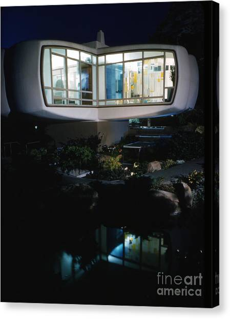 Futurism Canvas Print - Monsanto House Of The Future By Marvin Goody, 1961 by The Harrington Collection
