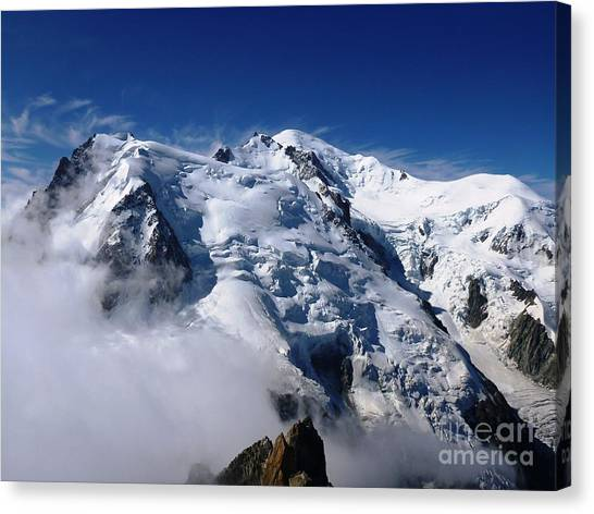Mont Blanc - France Canvas Print