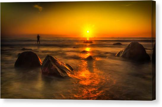 Montauk New York Summer Sunrise Canvas Print