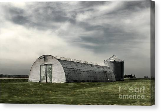 Montezuma Iowa - Farm  Canvas Print by Gregory Dyer