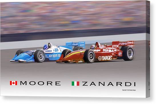 Moore And Zanardi Canvas Print
