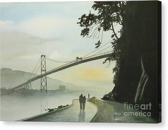 Morning Stroll Canvas Print