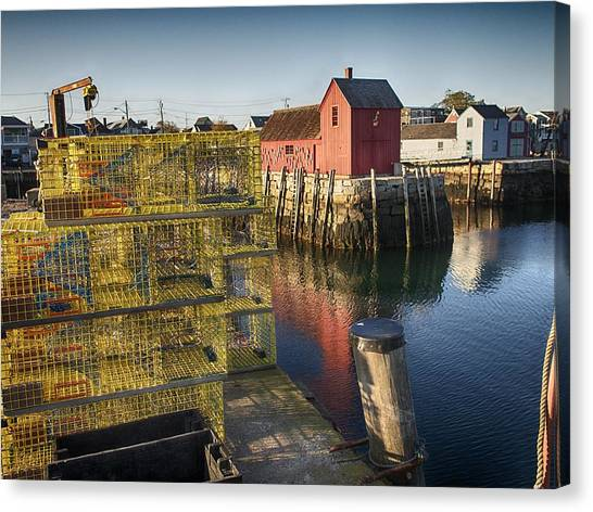 Rockport Harbor Canvas Print