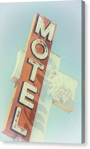 Motel El Rey Canvas Print