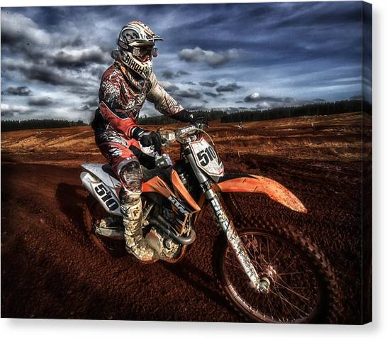 Motocross Canvas Print - Motocross by Sam Smith Photography