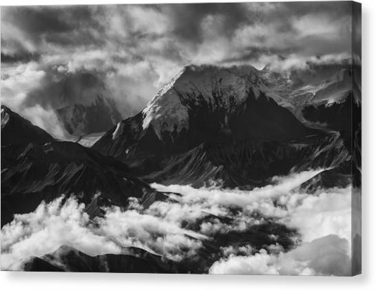 Denali Canvas Print - Mount Brooks by Rick Berk