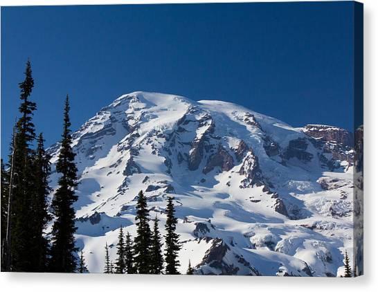 Mount Ranier Canvas Print