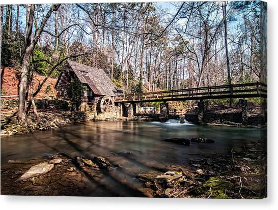 Mountain Brook Mill Canvas Print