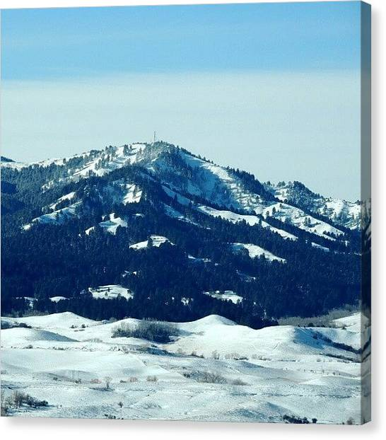Wyoming Canvas Print - Mountain by Kelli Stowe