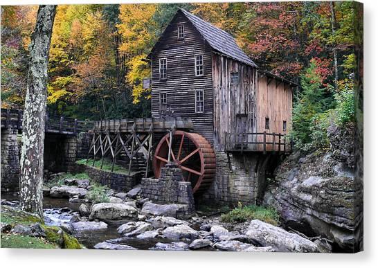 Mountain Mill Canvas Print