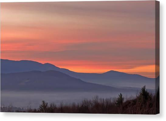 Mountain Sunrise 1 Canvas Print