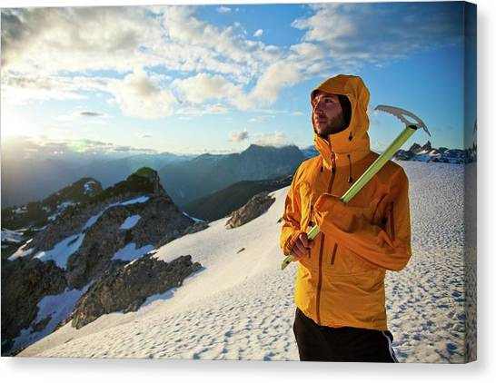 It Professional Canvas Print - Mountaineering by Christopher Kimmel