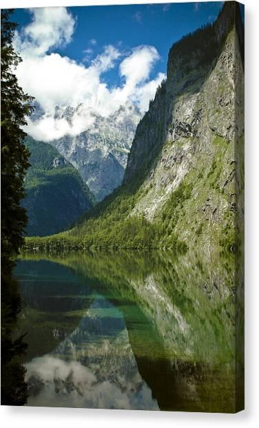 Mountainscape Canvas Print - Mountainscape by Frank Tschakert