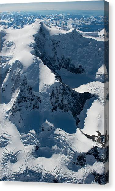 Mt Marcus Baker Canvas Print