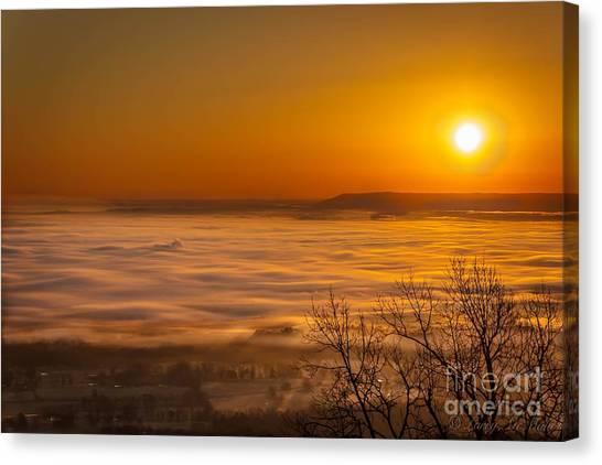 Mt. Nebo Canvas Print