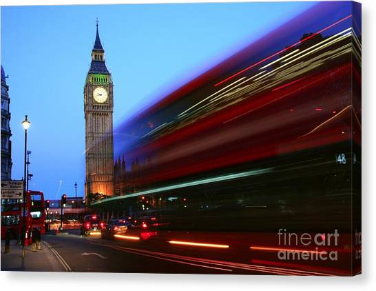 Must Be London Canvas Print
