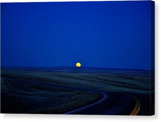 Native Moon Canvas Print