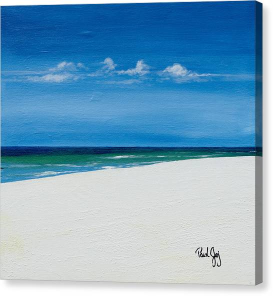 Navarre Beach Canvas Print