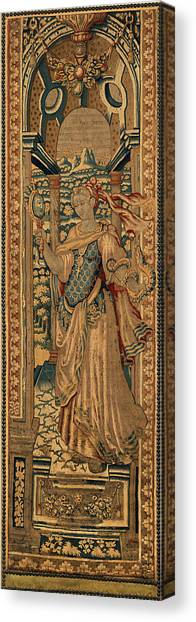 Dye Canvas Print - Netherlandish 16th Century, The Four Cardinal Virtues by Litz Collection