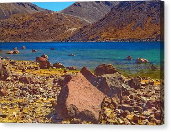 Nevado De Toluca Old Volcano Near Toluca Mexico Canvas Print